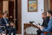 اسد: داعش با اراده آمریکا وارد سوریه شد
