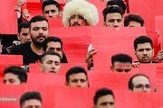 درگیری شدید هواداران پرسپولیسی و استقلالی روی سکوهای ورزشگاه!