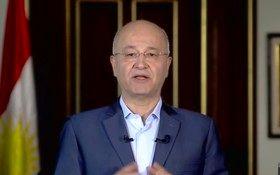 رئیس جمهوری عراق وارد کویت شد