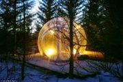 هتل حبابی در ایسلند/ تصاویر