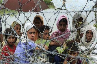 آواره شدن هزاران مسلمان در پی تصمیم ارتش میانمار برای پاکسازی راخین