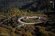 تصویری زیبا از ارتفاعات لاهیجان