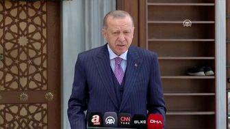 دیدار رئیس پارلمان عراق با اردوغان در آنکارا