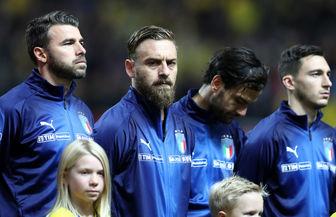 زلزله در تیم ملی ایتالیا/ خداحافظی 4 بازیکن
