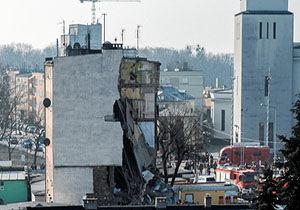4 کشته بر اثر انفجار در یک آپارتمان در لهستان