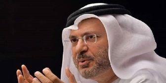 حمله وزیر اماراتی به فلسطینیان