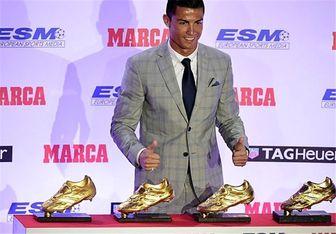 رونالدو: کفش طلای پنجم و ششم را هم میخواهم