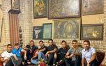 دورهمی صمیمی بازیکنان پرسپولیس در محفل سنتی! +عکس