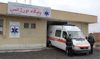 امدادرسانی اورژانس 115 اردستان به مصدومین 395 حادثه رانندگی