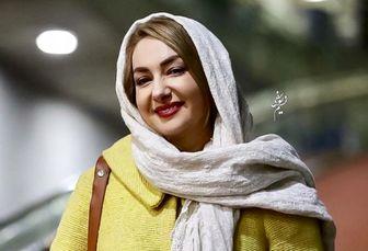 سلفی جدید هانیه توسلی در میان شنها /عکس
