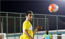 هافبک ایرانی تیم الاهلی قطر از بند مصدومیت رهایی یافت