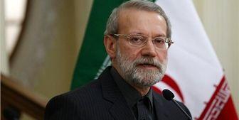 لاریجانی: انقلاب اسلامی با صلابت و مظلوم است