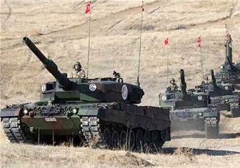 تانکهای ترکیه وارد سوریه شدند