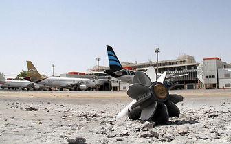 حملات مجدد نیروهای حفتر به فرودگاه مصراته