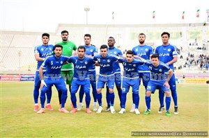 تساوی سیاهجامگان و استقلال خوزستان در نیمه نخست