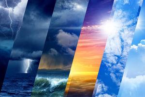 احتمال بارش تگرگ در ۱۶ استان کشور