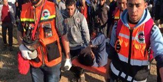شهادت یک امدادگر فلسطینی