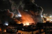 حمله جنگنده های رژیم صهیونیستی به نوارغزه