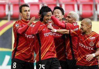 پیروزی ناگویای ژاپن در لیگ قهرمانان آسیا