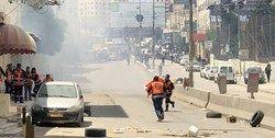 زخمی شدن دهها فلسطینی در کرانه باختری