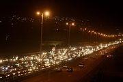 ترافیک سنگین بزرگراههای شهر تهران را قفل کرد