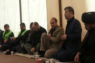 نشست ستاد اربعین با حضور شهردار تهران در کربلا