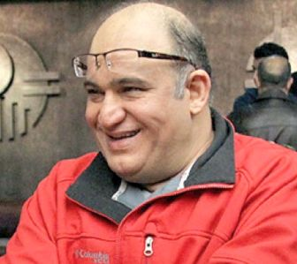احترام نظامی آقای بازیگر در مرد نقره ای+عکس