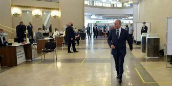 استقبال پوتین از رأی مثبت مردم روسیه