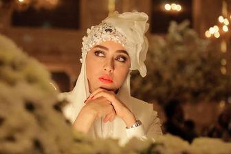 بازگشت «بهاره کیان افشار» با لباس عروس به سینماها/ عکس