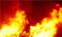 آتشسوزی گسترده در پی انفجار قطار در بلژیک