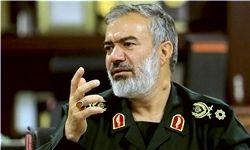 هشدار سردار فدوی به آمریکا/اینجا خلیج فارس است باید به زبان فارسی با ما صحبت کنید