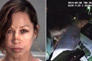 دستگیری خانم بازیگر به دلیل خشونت خانوادگی/ عکس
