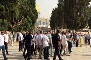 یورش اسرائیل به مسجد الاقصی