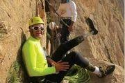 کوهنوردی که پاهای پروتزی دارد! +عکس