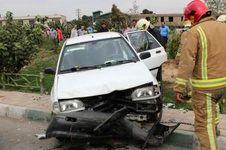 مرگ چهار عضو یک خانواده در تصادف پراید با کامیون