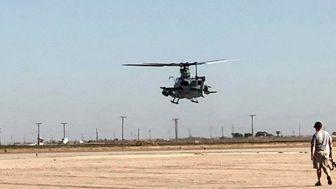 سقوط هلیکوپتر نظامی آمریکا در ایالت کالیفرنیا