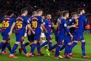 پیروزی بی دردسر بارسلونا