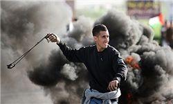 حمله صهیونیستها به مراسم تشییع جوان فلسطینی