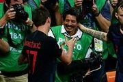 هدیه مانژوکیچ به عکاس بدشانس جام جهانی ۲۰۱۸