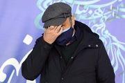 کلافگی و چهره اندوهگین «رضا عطاران»/ تصاویر