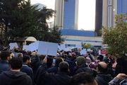 تجمع مردم ترکیه در اعتراض به جنایت آل سعود