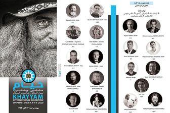 معرفی داوران هشتمین جشنواره عکس «خیام»