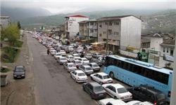 ترافیک نیمهسنگین در باند شمالی آزادراه کرج-قزوین