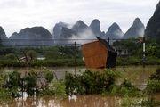 سیل ویرانگر در چین +تصاویر