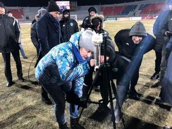 رسوایی فوتبال روسیه در بازی یاران میلاد محمدی