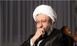 آملی لاریجانی در پیامی درگذشت حجت الاسلام خلفی را تسلیت گفت