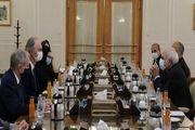 دیدار ظریف با نماینده ویژه دبیرکل سازمان ملل در امور سوریه