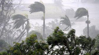 طوفان سهمگین در ماساچوست آمریکا