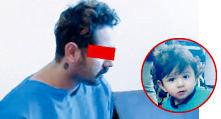 قاتل اهورای ۳ ساله اعدام شد
