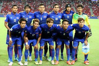 کامبوج با ۲۶ بازیکن به تهران میآید